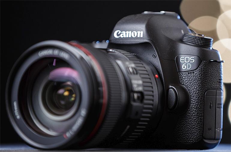 Новый беззерклаьный фотоаппарат Canon 6D Mark II с полнокадровой матрицей