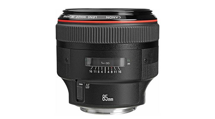 Canon EF 85 mm f/1.4 L