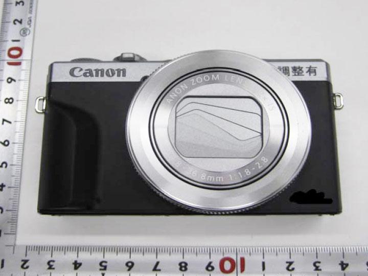 Фото прототипа нового фотоаппарата G7X Mark III
