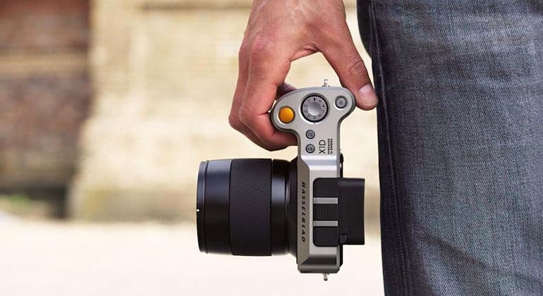 Hasselblad X1D - первая в мире компактная беззеркальная камера среднего формата