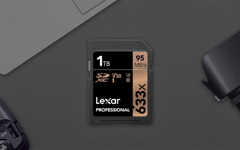 Lexar Professional 633х составляет 1 Терабайт