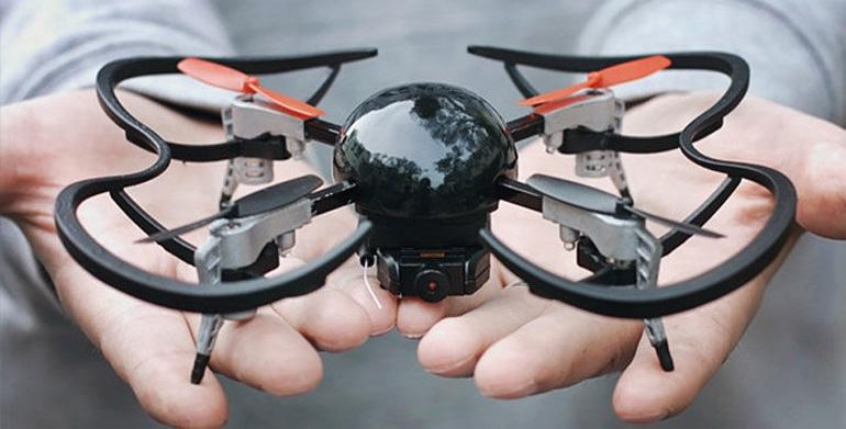 Micro Drone 3.0 в масштабе