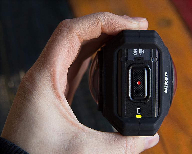 KeyMission 360 Nikon простота в управлении