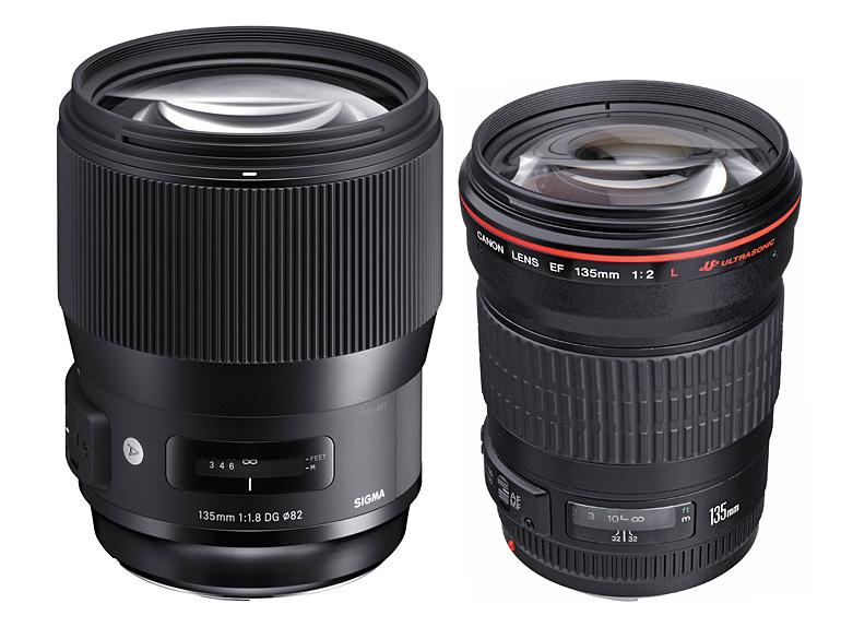 Sigma 135 vs Canon 135