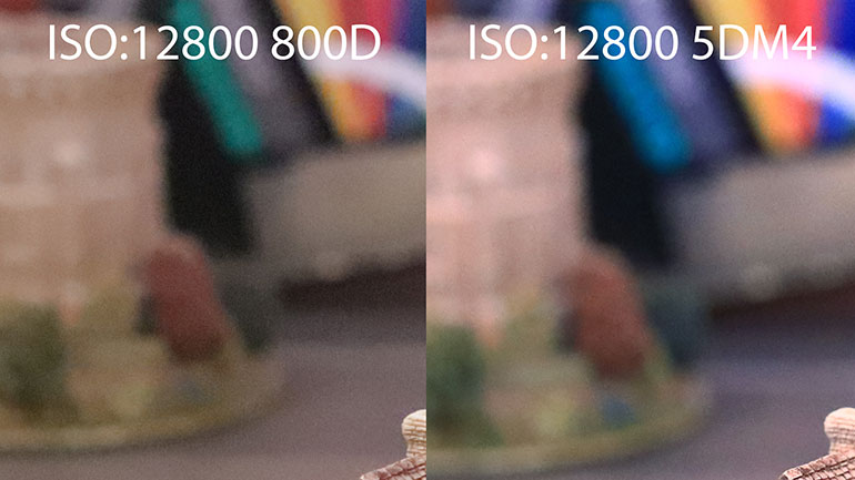 Рабочие ISO зеркалки Canon 800D VS 5D Mark IV