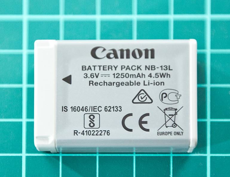 Canon NB-13L 3.6 V 1250 mAh