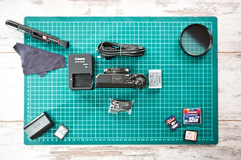Распаковка фотоаппарата Canon G7X Mark2