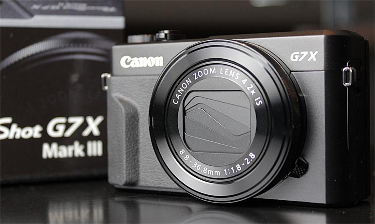 Новый фотоаппарат G7X Mark III с матрицей 1 дюйм, 4К