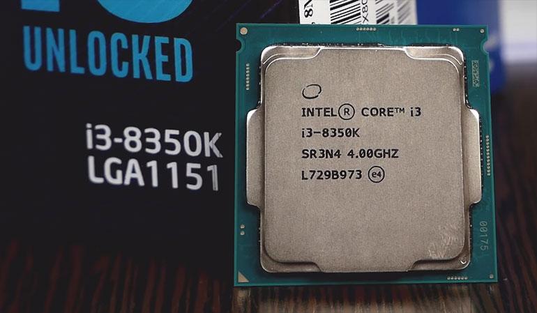 Intel i3 8350k для фотошопа