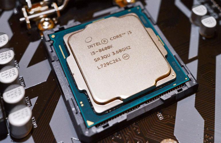 Intel i6 8600k для фотошопа
