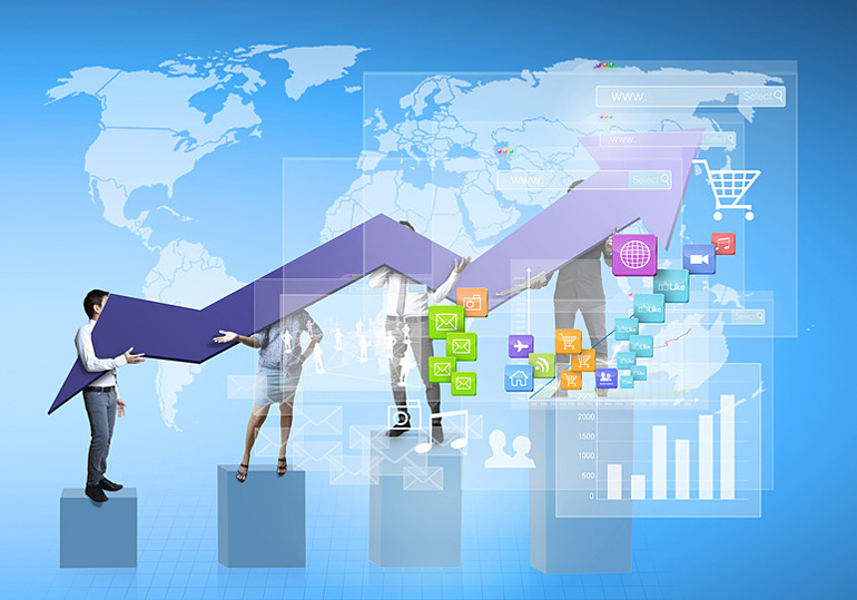 Динамика роста интернет рекламы