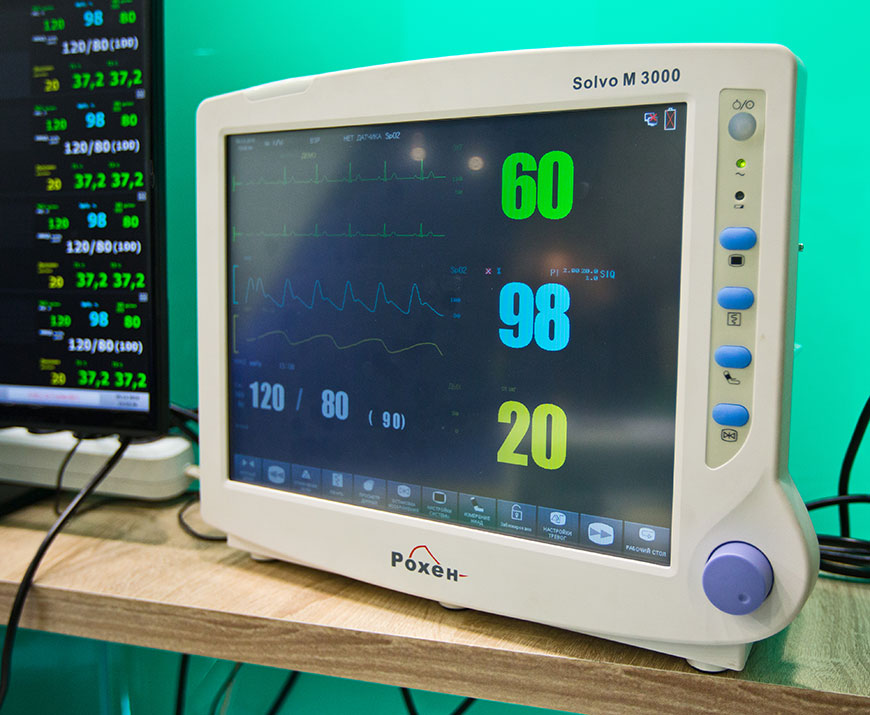 Фотосъемка приборов для медицинского сайта