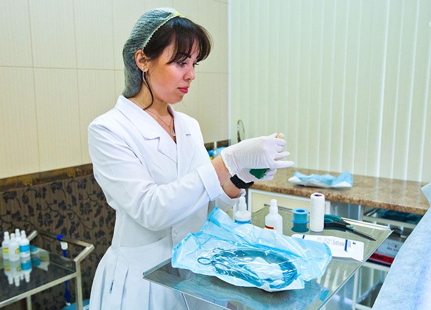 Фотосъемка медперсонала для медицинского сайта