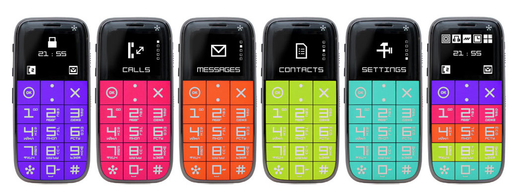 простой телефон