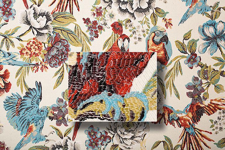 съемка ткани и текстиля