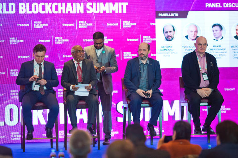 Moscow World Blockchain Summit - An event by Trescon | 26 - 27 Apr 2018