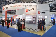 Стенд компании EKF