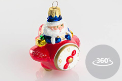 3d фото Деда Мороза